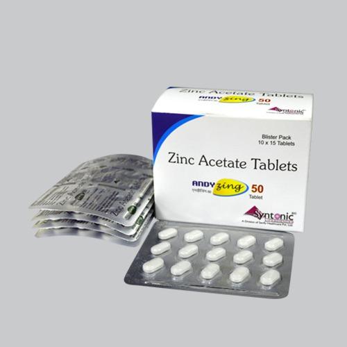 Zinc Acetate (as Dihydrate) 167.86mg eq to ele Zinc 50mg
