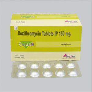 Roxithromycin 150mg Tablet