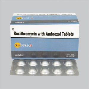 Roxithromycin 150mg & Ambroxal 30mg Tablet