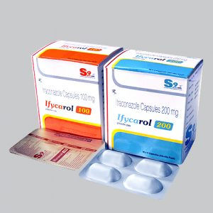 Ifycarol-100, 200 Capsules
